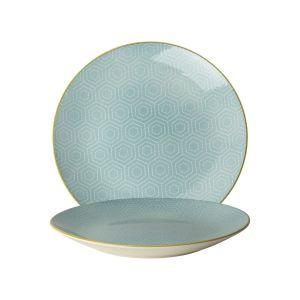 Plate o26,5cm Hexagon