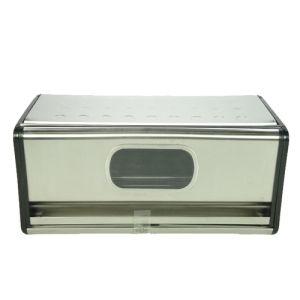 Bread bin w/window 39.5x20x18