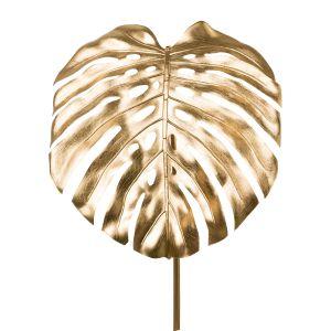 Splitphilodendron leaf, gold38x41x112cm