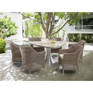 Palm (7pcs/s Triangular Table D160*H175,Armchair W65*D64*H85cm)