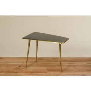 Table Astair, H 54 cm, W 38 cm, Eisen, Colour mix iron colour-mix