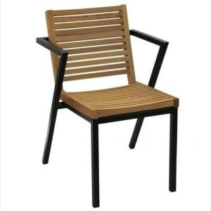 CHAIR WH METAL-IROCCO WOOD BINDING WH ZEN