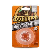 Gorilla Crystal Clear Mounting Tape 1.52m