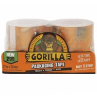 Gorilla Packing Tape (2 pack refill 27mx72mm)